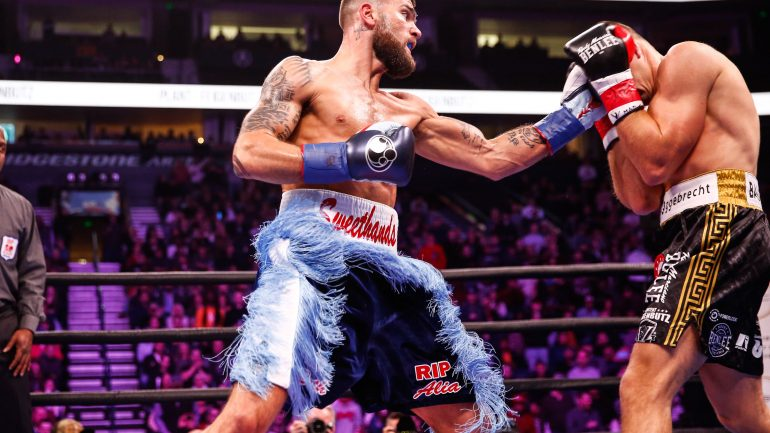 Caleb Plant outclasses Vincent Feigenbutz, retains super middle belt by 10th round stoppage