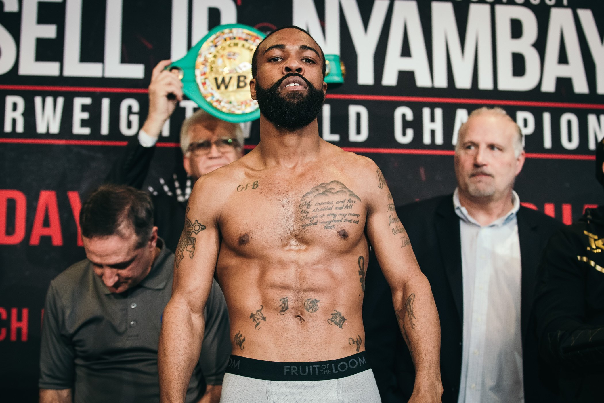 Gary Russell Jr. Photo by Amanda Westcott/Showtime