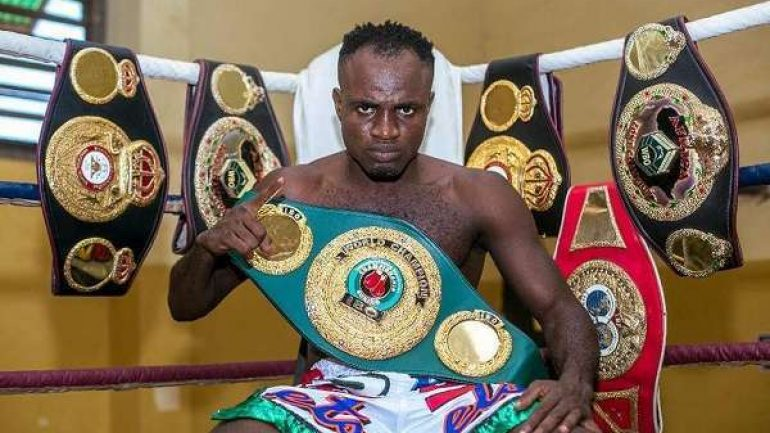Emmanuel Tagoe more than ready for Mason Menard, management seeks world title shot