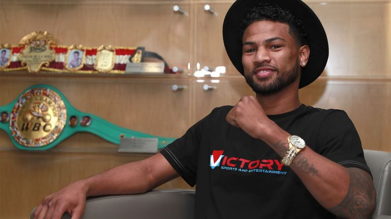 Shane Mosley Jr. signs co-promotional agreement with Golden Boy Promotions and Tournament of Contenders