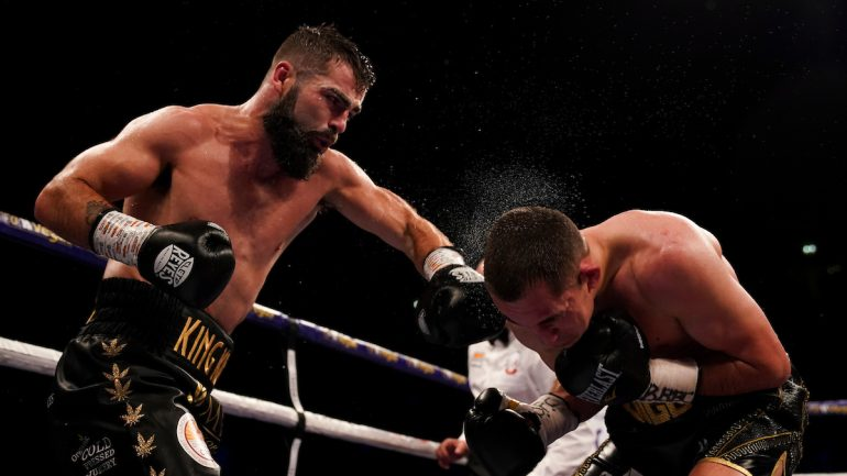 Jono Carroll scores one-sided 11th-round stoppage over former titleholder Scott Quigg