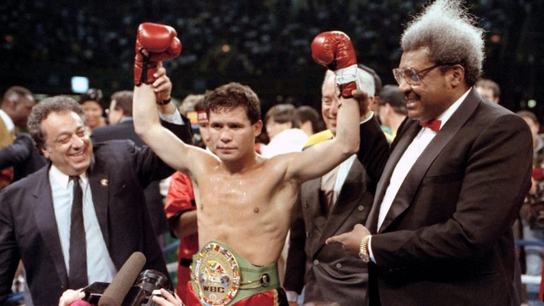 Julio Cesar Chavez remembers Cinco de Mayo: 'It's a very special day for all Mexicans'