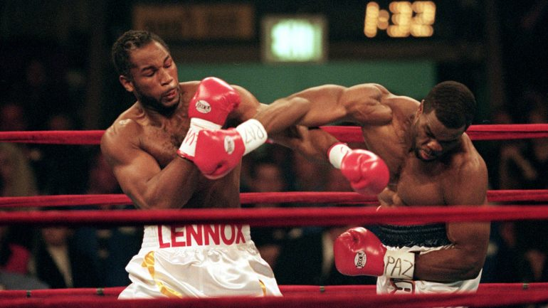 Lennox Lewis recalls the 20-year anniversary of 'Two Big'