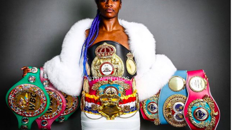 Claressa Shields: My goal is to become a two-sport world champion