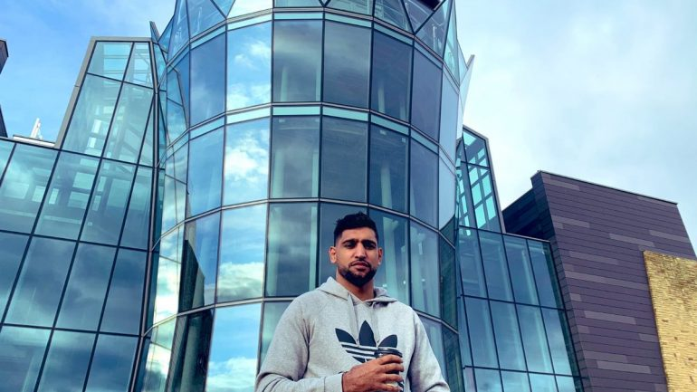Amir Khan offers building in England to assist COVID-19 patients