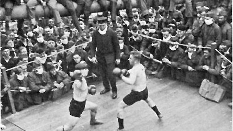 COVID-19 isn't the first pandemic to halt boxing