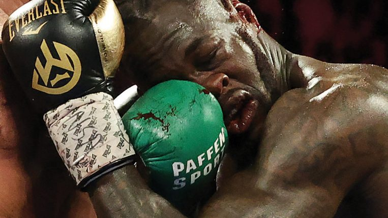 When Bombers Get Bombed Deontay Wilder isn't the first heavyweight puncher to see his mystique crumble