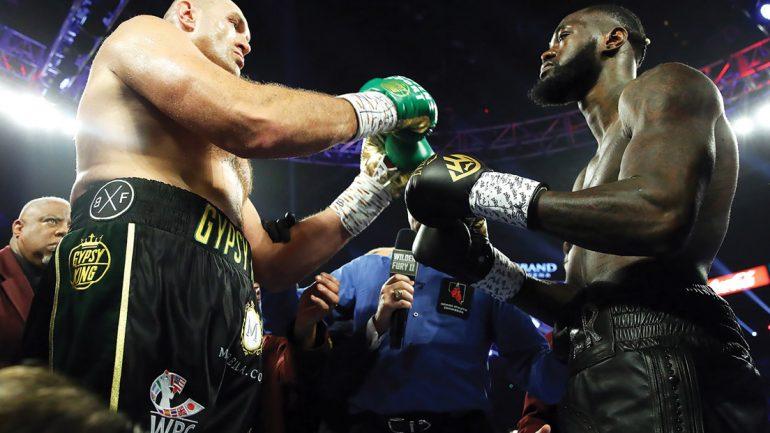 Fury-Wilder III likely postponed due to coronavirus pandemic, says Arum