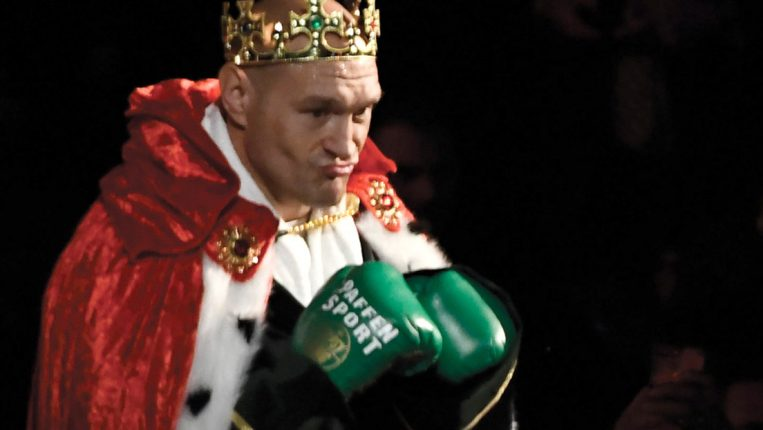 The Joker is the King Tyson Fury regains the heavyweight championship