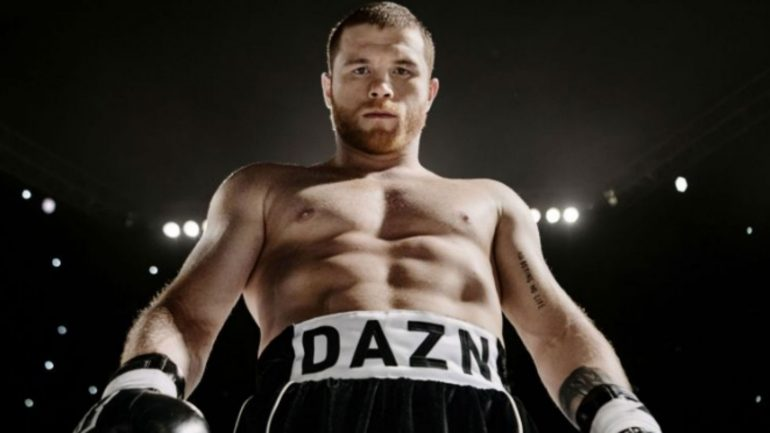 Canelo Alvarez files lawsuit against DAZN, Golden Boy Promotions