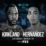 james kirkland vs mark anthony hernandez PBC 150x150 - PBC: James Kirkland vs. Mark Hernandez postponed