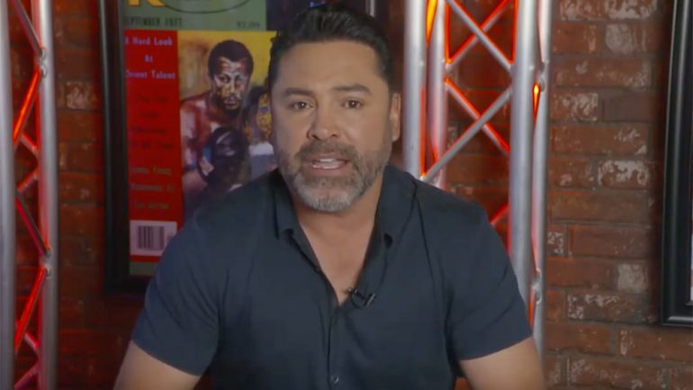 Oscar De La Hoya and family donate $250,000 to COVID-19 effort