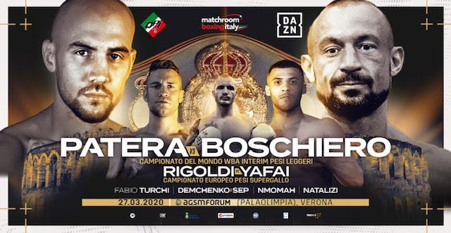 Watch Devis Boschiero vs Francesco Patera 12/17/20