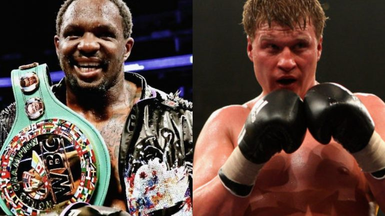 Dillian Whyte and trainer Mark Tibbs part ways ahead of Alexander Povetkin clash
