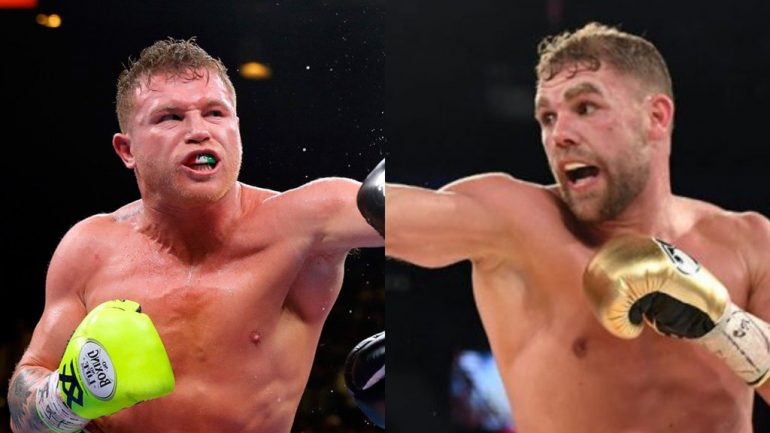 Canelo Alvarez-Billy Joe Saunders reportedly on for May 2 in Las Vegas
