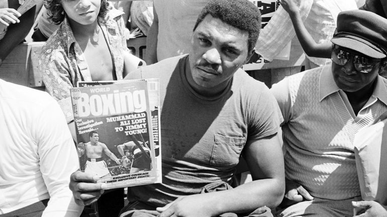 Book Excerpt: Muhammad Ali 'beats' Jimmy Young thanks to gift decision