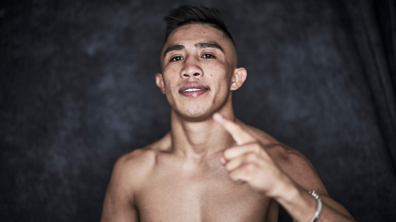 Hand injury forces Julio Cesar Martinez to withdraw from McWilliams Arroyo bout
