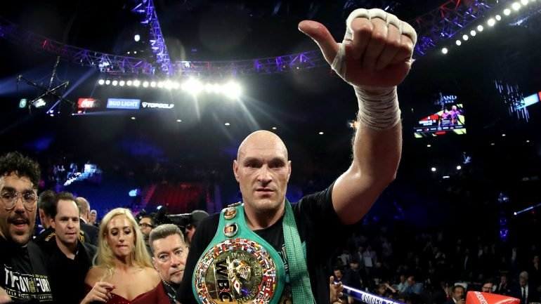 Eddie Hearn says he regrets not signing Tyson Fury in 2017