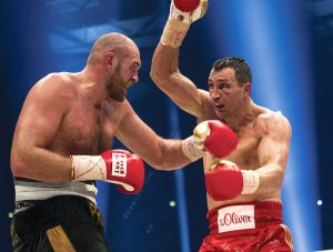 fury klitschkoGettyImages 499108608 300x227 - Dougie's Friday Mailbag (Ring City, the heavyweight division, and 'what-ifs?')
