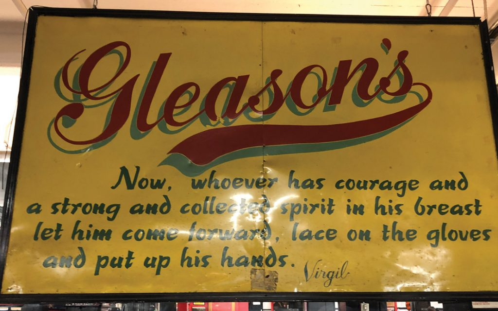 gleasons contents 1024x640 - Re-opening Report: Gleason's Gym back open for business