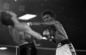 Boza Edwards right hand Chacon 300x191 - A Fan Remembers: Bobby Chacon vs. Cornelius Boza-Edwards II