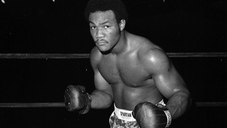 From the archive: George Foreman is a gentle giant