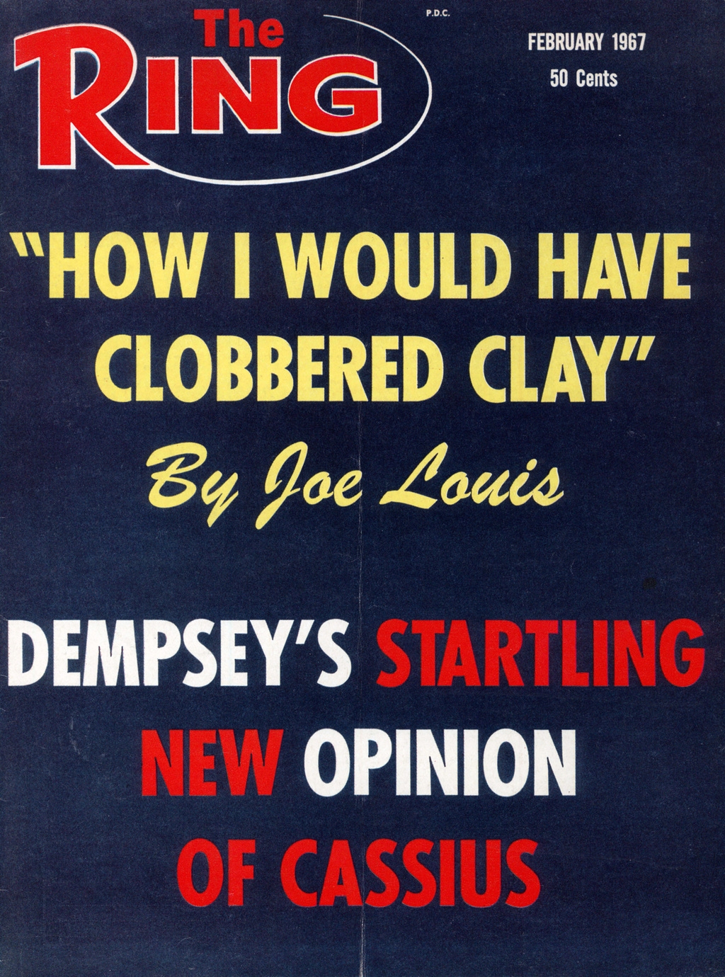 GettyImages 158469156 - From the archive: 'How I would have clobbered Cassius Clay' by Joe Louis