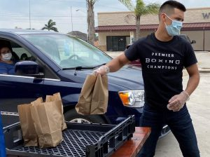 IMG 1409 300x224 - Omar Juarez is doing extraordinary charity work during the pandemic