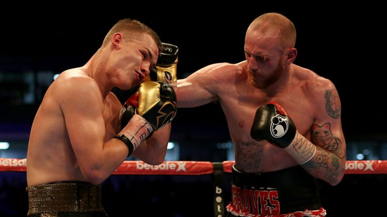 LAND 16 9 3968729 - George Groves: The Greatest Hits
