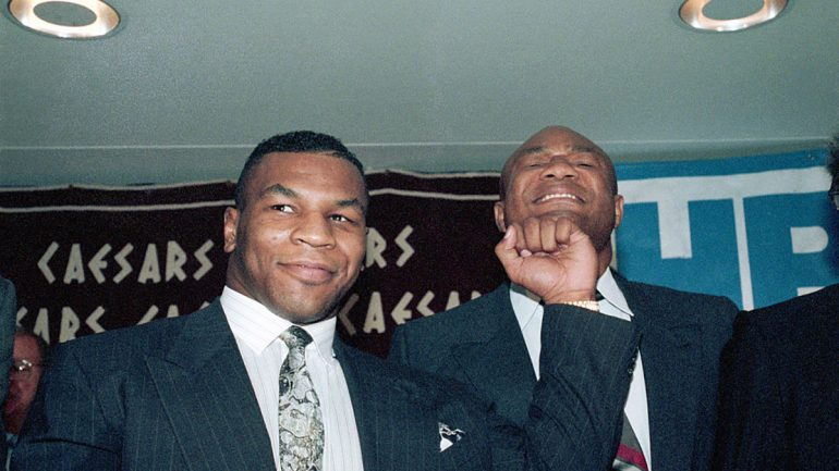 From The Archive: Can 'Iron' Mike Tyson stop the blast from the past – George Foreman?