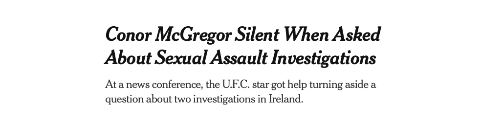 Screen Shot 2020 05 15 at 12.01.33 AM - New York Times reporter hits a nerve, or three, in Dana White