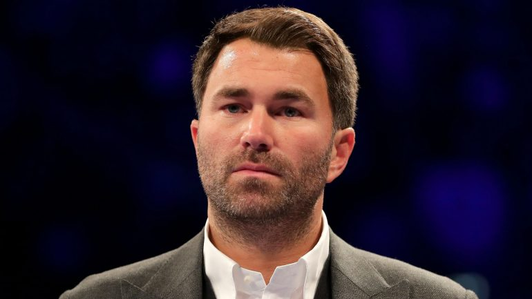 Eddie Hearn jumps Sky to make exclusive deal with DAZN, according to The Athletic