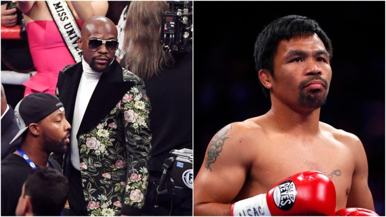 Manny Pacquiao responds to Floyd Mayweather's 'old man' comments