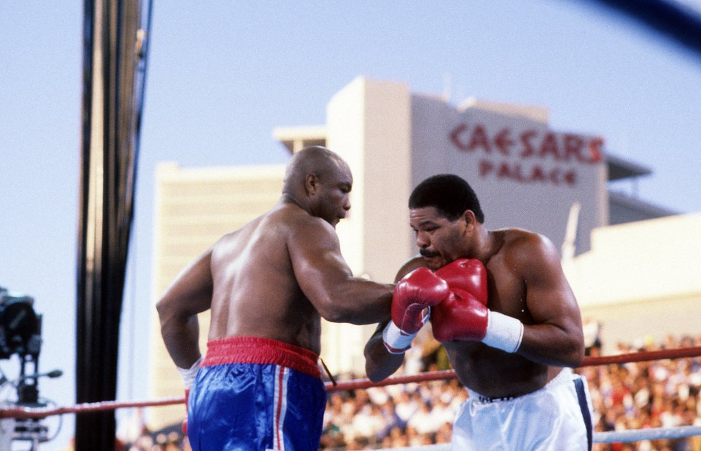rsz 1gettyimages 161748359 - From The Archive: Can 'Iron' Mike Tyson stop the blast from the past – George Foreman?