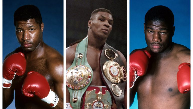 From The Archive: Riddick Bowe and Ray Mercer take aim at Mike Tyson
