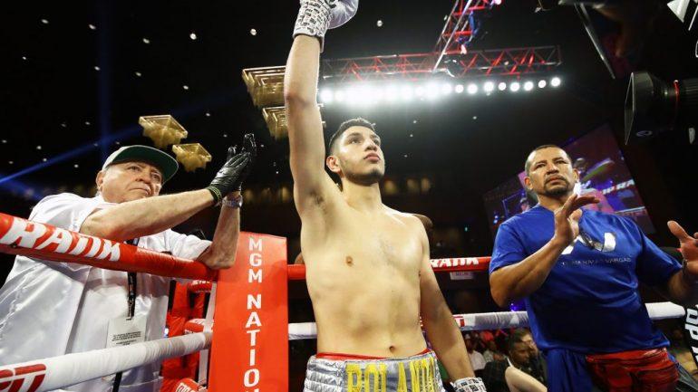 Rolando Vargas' early start is spelling huge rewards