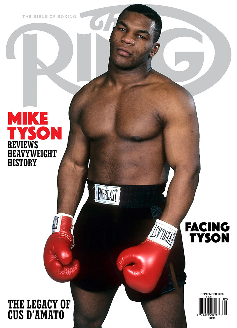 September 2020 issue cover - Mike Tyson: The Greatest Hits