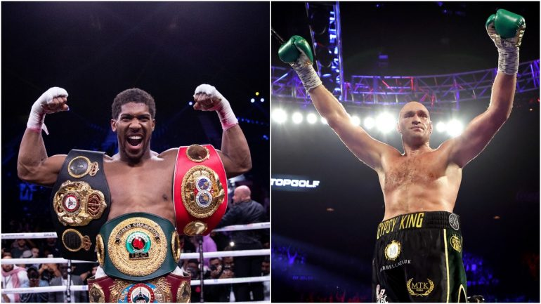 Fighting Words: Anthony Joshua can't delay Tyson Fury fight (even if he should)