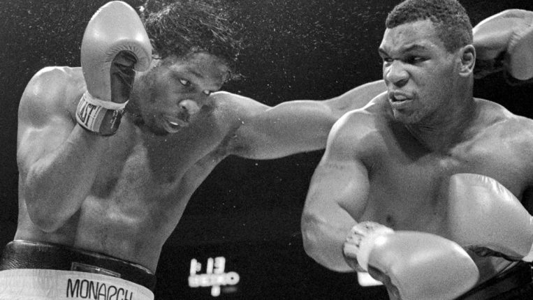 Iron in the Fire Tyson's early fights created the buzz that became a full-blown frenzy
