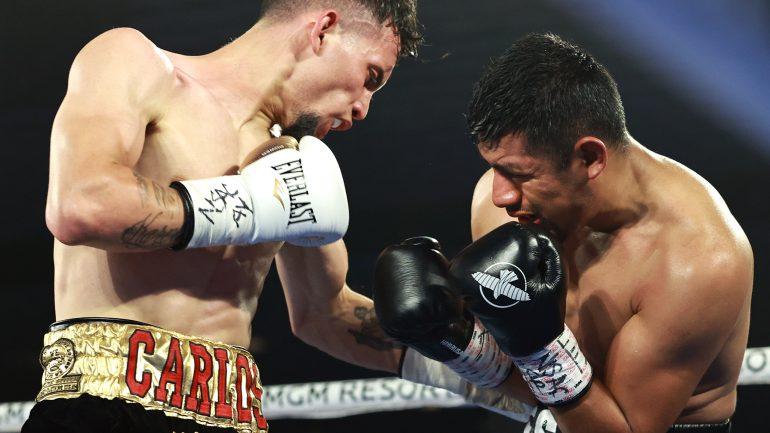 Carlos Castro dominates Cesar Juarez, wins by fourth round TKO