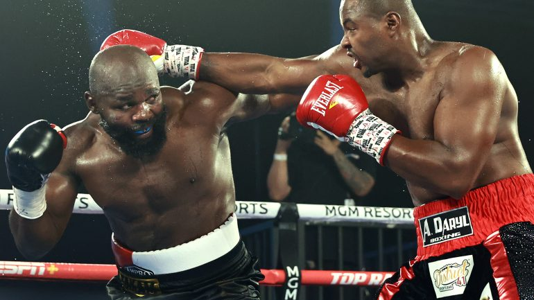 Carlos Takam outfights Jerry Forrest to unanimous decision win