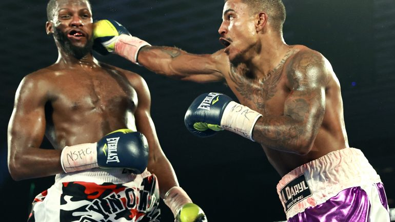 Donte Stubbs drops Fred Wilson twice, wins unanimous decision