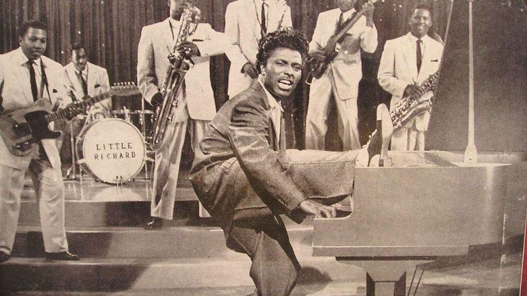 Little Richard and Muhammad Ali