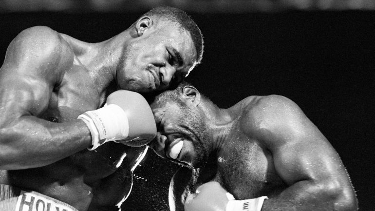 Epic Holyfield-Qawi war was part of Real Deal's 'Omega Project' path to Mike Tyson