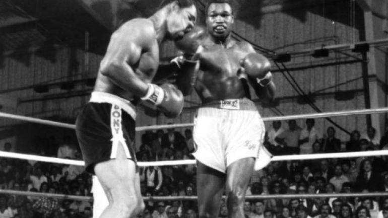 hey larry holmes mike tyson is on the line wants you to fight on the sept 12 card the ring hey larry holmes mike tyson is on the