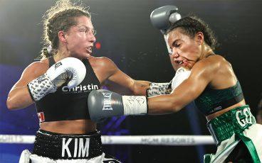 La pasión de Kim Clavel por ayudar es casi tan fuerte como la de pelear