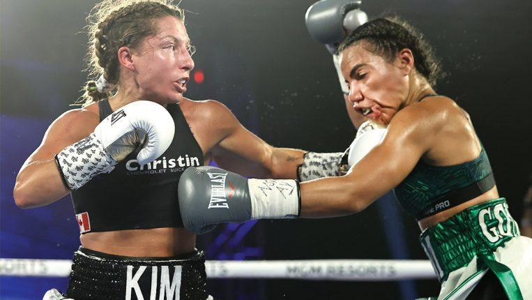 Puro corazón La pasión de Kim Clavel por ayudar es casi tan fuerte como la de pelear
