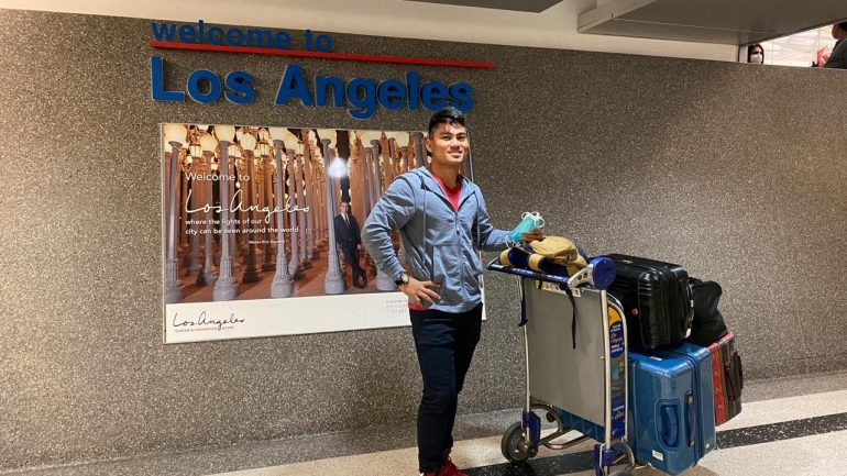 Mark Magsayo arrives in LA from Philippines, will resume training with Freddie Roach
