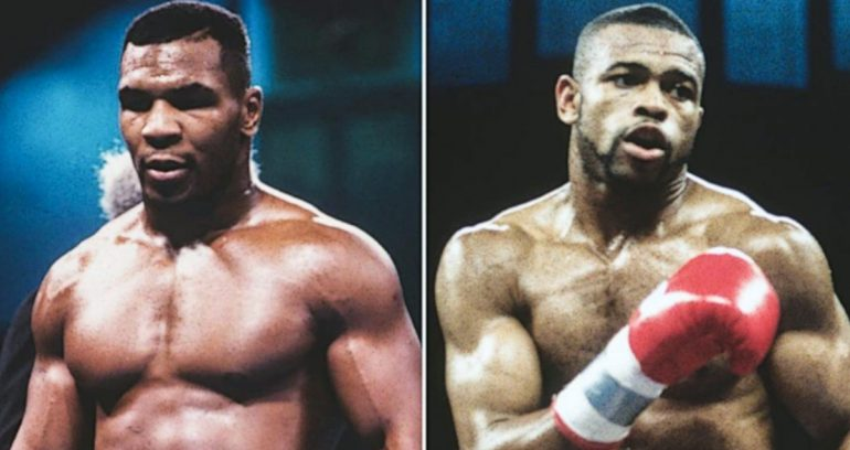 mike tyson and roy jones make it official for nov 28 the ring mike tyson and roy jones make it