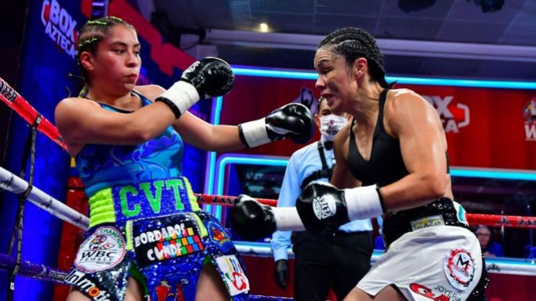 Jackie Nava outpoints Estrella Valverde over 10, full results from Mexico City